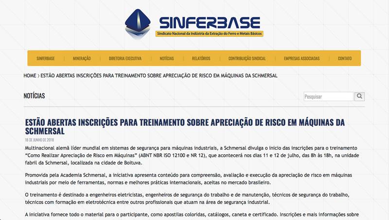 08ef4335e8 Schmersal - Brasil - Treinamento